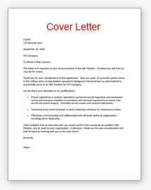 cover letter example letter example and resume examples on pinterest