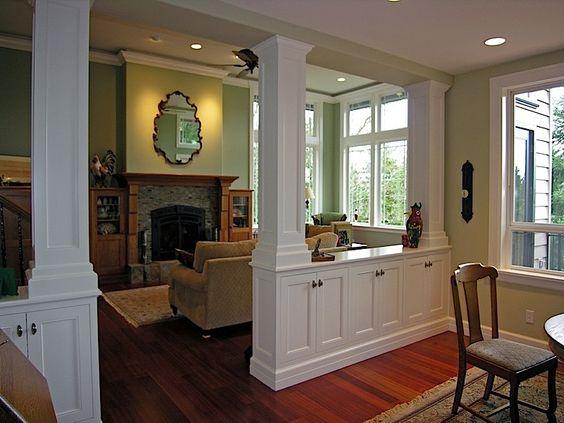 Kitchen Living Room And Dining Room Divider Design Novocom Top