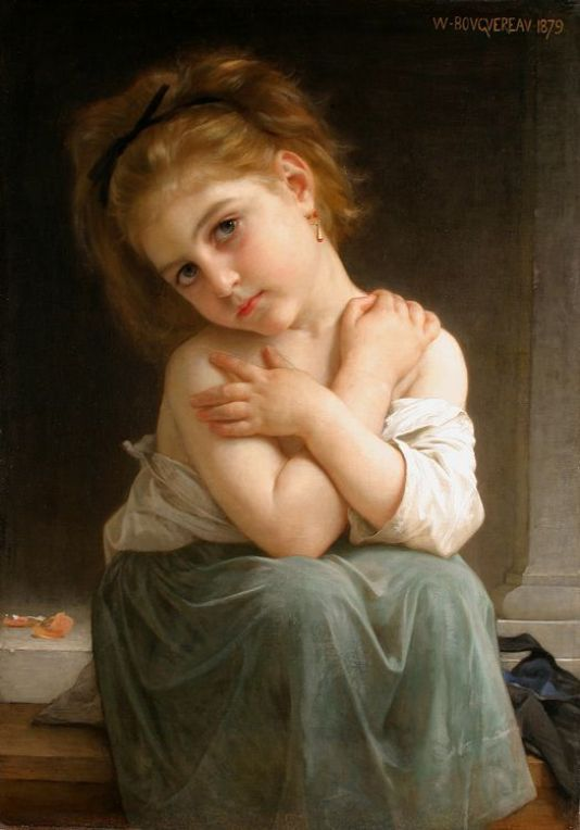 Chilly by William Adolphe Bouguereau: