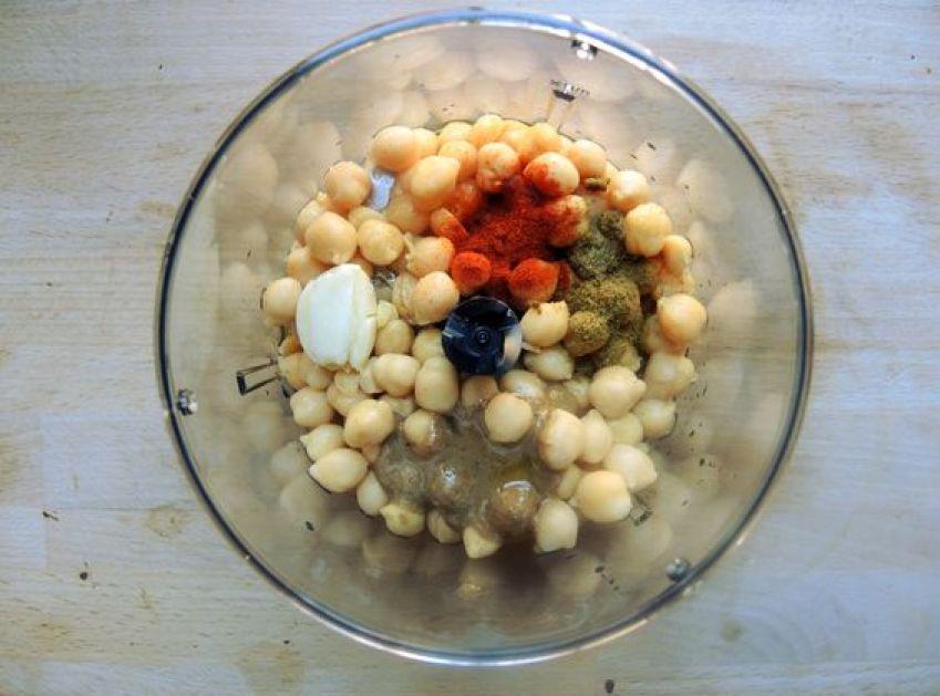 elaboración receta hummus casero