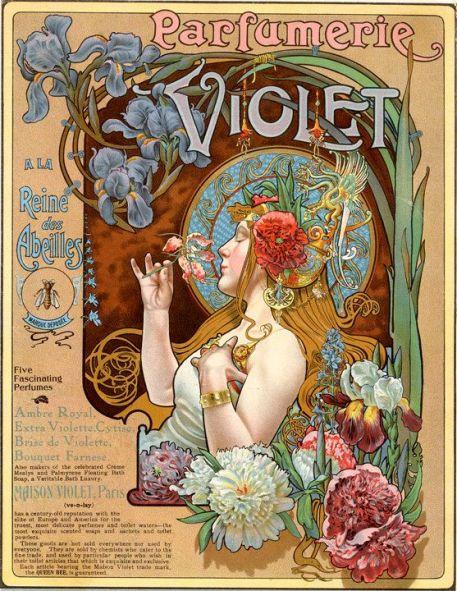 Louis Théophile Hingre (1832-1911) Parfumerie Violet: