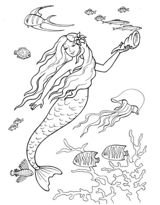 colouring pages coloring pages and mermaids on pinterest