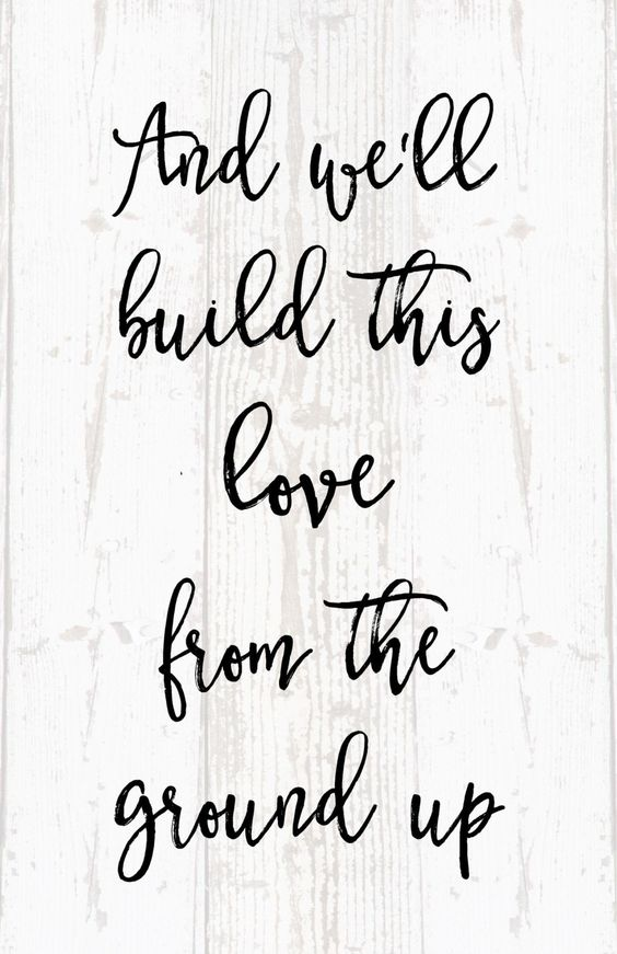 Download And We Built This Love From the Ground Lyrics Dan & Shay ...