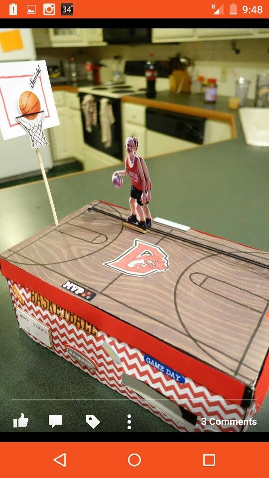 Our Simple Machine Basketball Valentine Box The Pulley