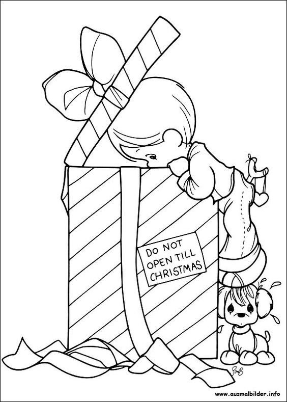 weihnachten precious moments and christmas coloring pages