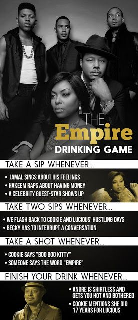 The Empire Drinking Game