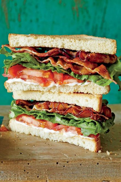 The SL BLT - June 2016 Recipes - Southernliving. Recipe: The SL BLT Punch up store-bought mayonnaise with these flavor-boosting ideas: For extra tang and heat, zest a small lemon and grind lots of black pepper into the mayo. For a hint of green, chop a small handful of tender herbs—parsley, basil, tarragon, dill—and fold them into the mayo.: