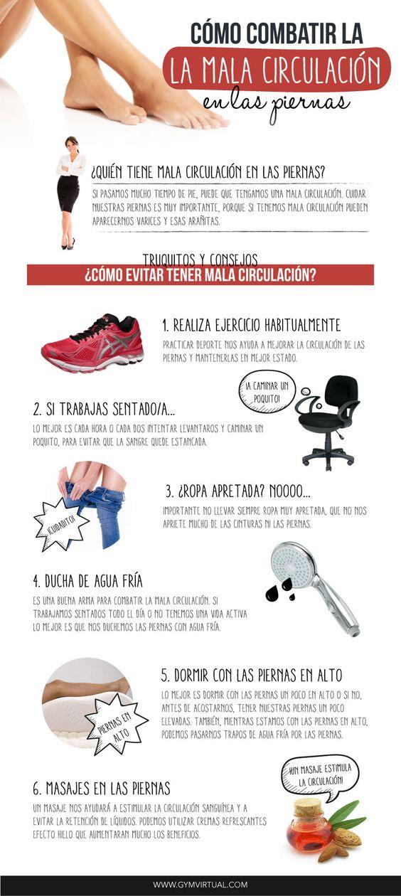 Cómo combatir la mala circulación!!!: