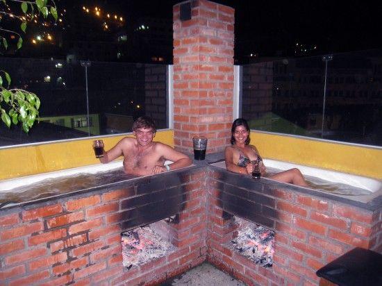 Bolivia Outdoor Bathtub And Bath On Pinterest
