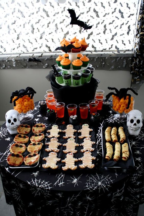 Halloween kid party ideas for food cute kids halloween