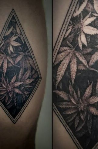 Top 20 Dope Weed Tattoos You Dont See All The Time