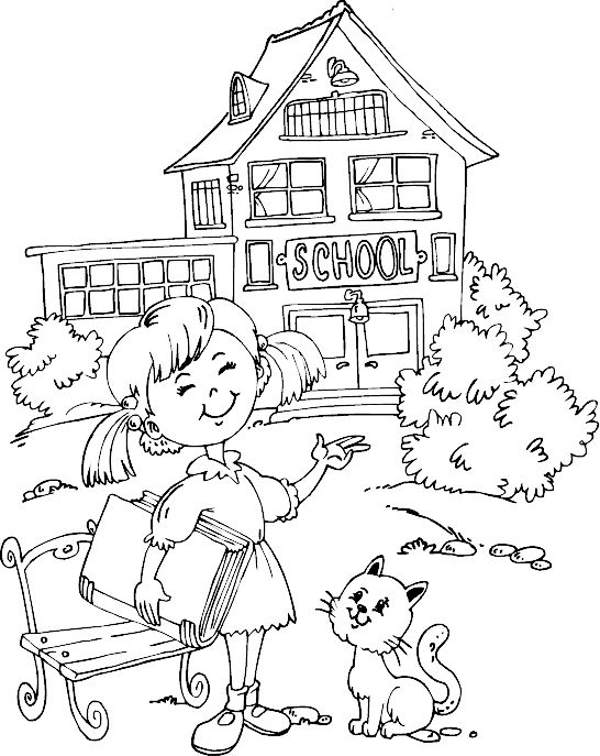naar school coloring pages and schools on pinterest