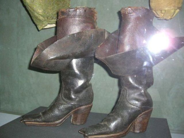 Officer boots, 1630s