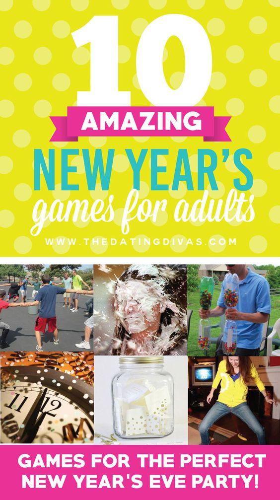 50 Amazing New Year's Games New Year's, New year's games