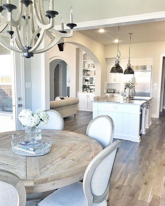 Love the chandelier and wonderful table!  Perfect!!!: