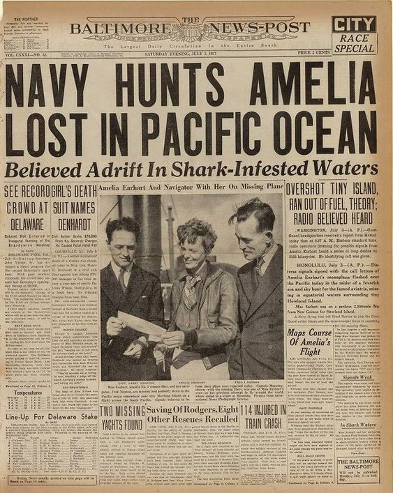 Here are 28 newspaper headlines that document history's