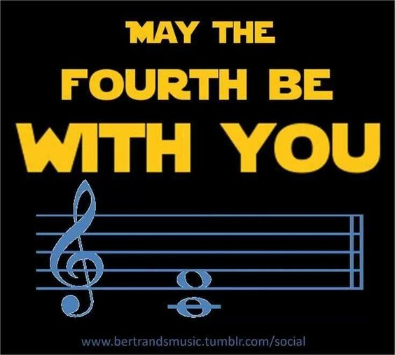May the fourth be with you.: