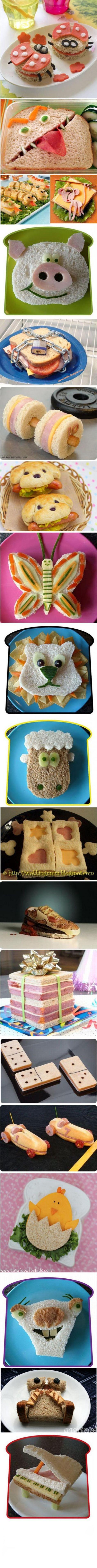 Découvrez 18 manières de préparer un sandwich.