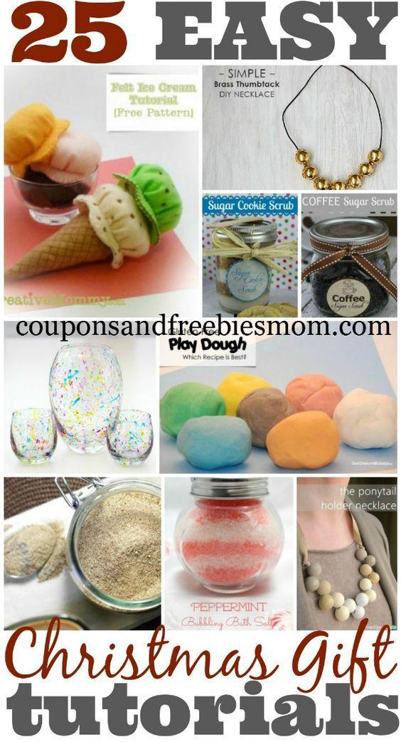 DIY Christmas Gifts Collage 25 Homemade Christmas Gifts