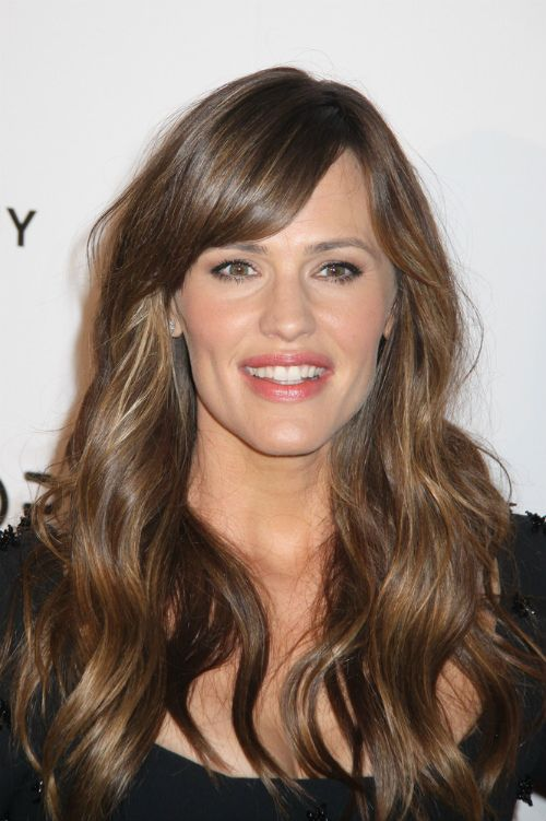 Jennifer Garner Haircut With Side Fringe Favorite Places
