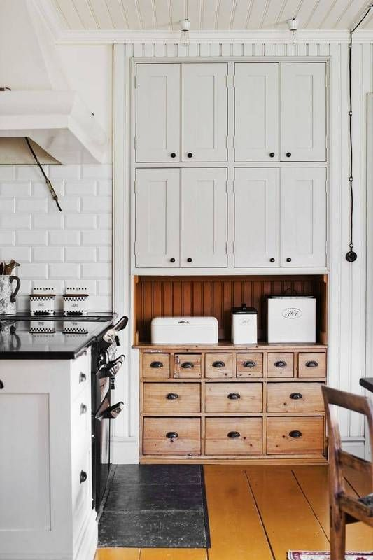 pantry trends 2017 white and wooden kitchen cabinet