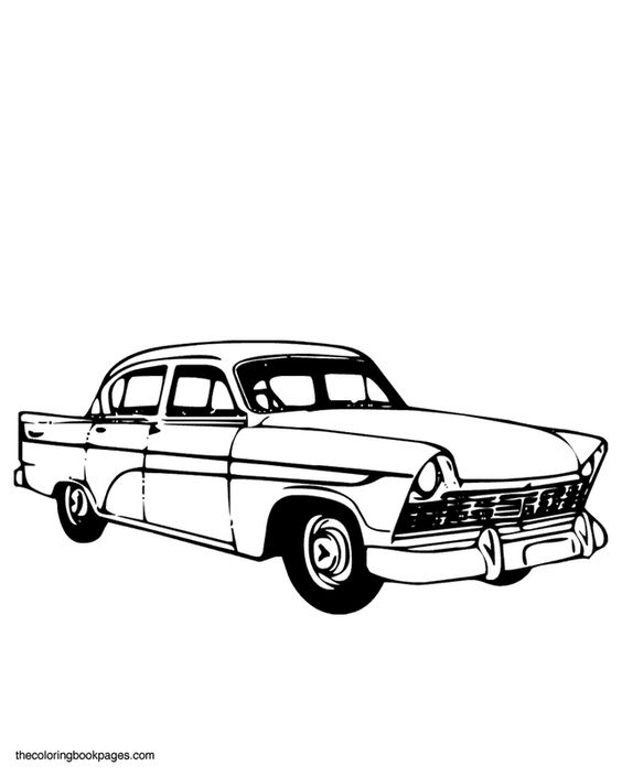 s car coloring book pages and transportation on pinterest