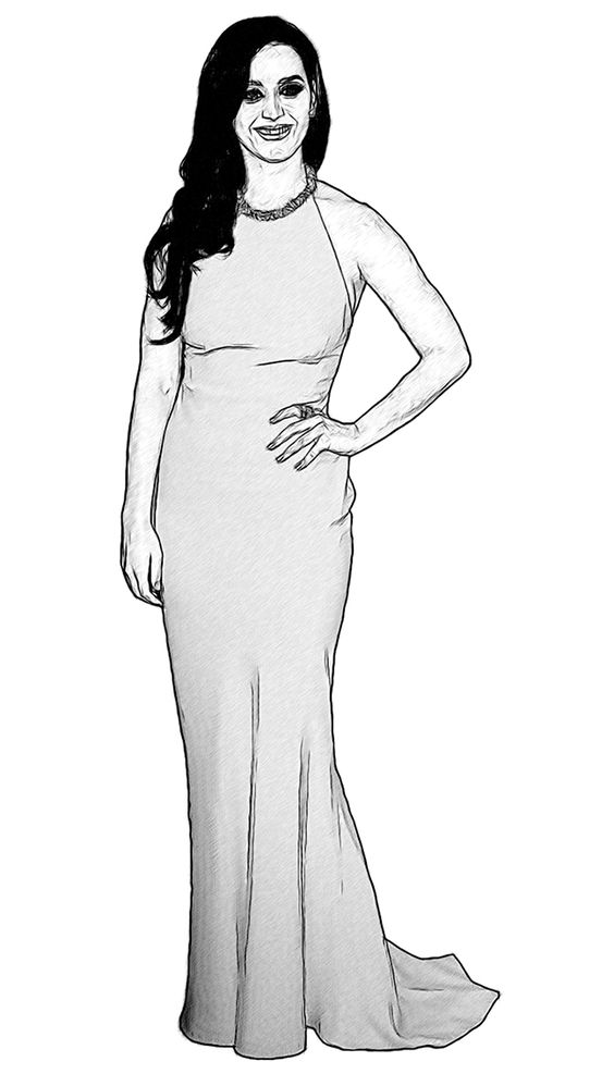 katy perry coloring pages and coloring on pinterest