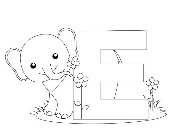 letter e animal alphabet and alphabet letters on pinterest