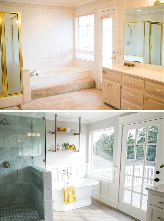 Bath Chip Fixer. modern bathroom with gray tile the gorgeous gray ...