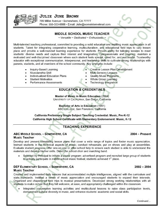 1000 images about teacher and principal resume samples on