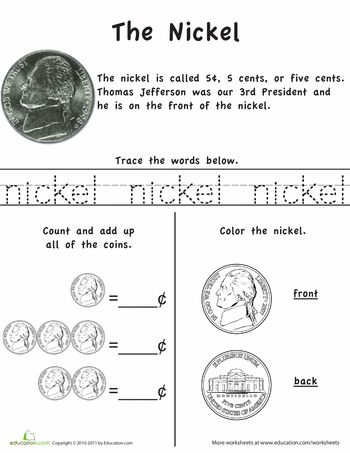 Learn The Coins The Nickel