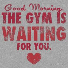 The Gym Is Waiting