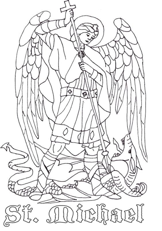 st michael the archangel catholic page prentice pinterest