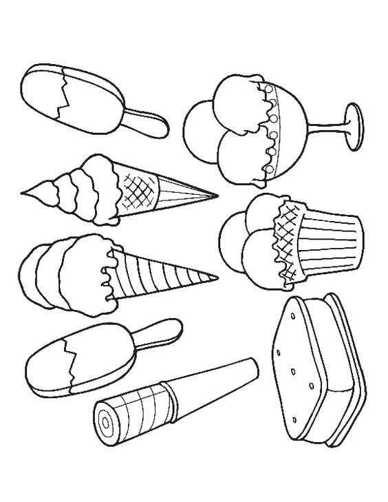 coloring ice and more ice colouring pages coloring cream ice cream