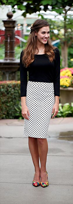 Free Pencil Skirt Pattern