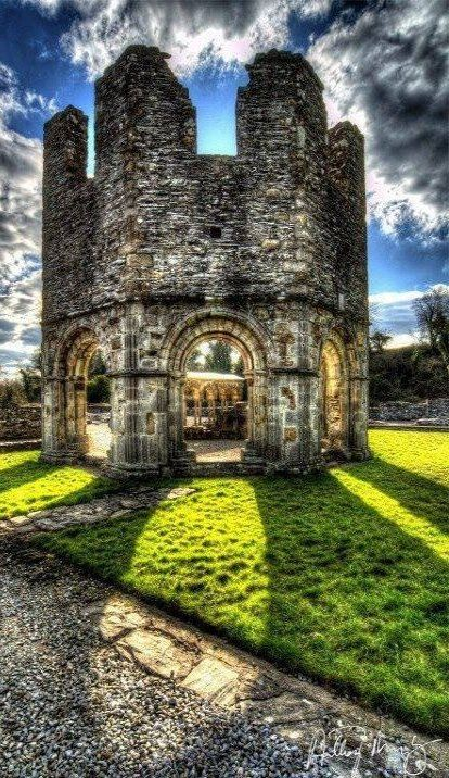 Old Mellifont Abbey 12th century, County Louth, Ireland