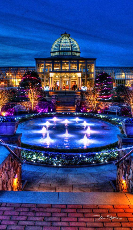 The Lewis Ginter Botanical Garden, Henrico, VA. Almost