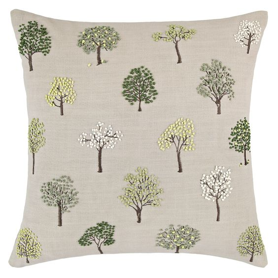 John Lewis Mini Trees Cushion GtgtFor The Home
