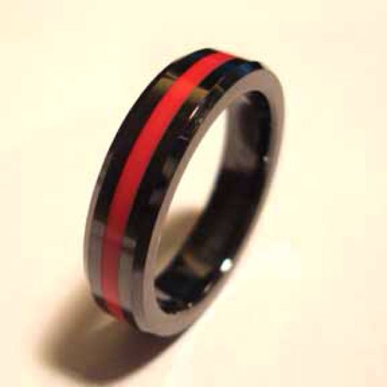 Firemans Wedding Band Its A Must Have For Me Wedding