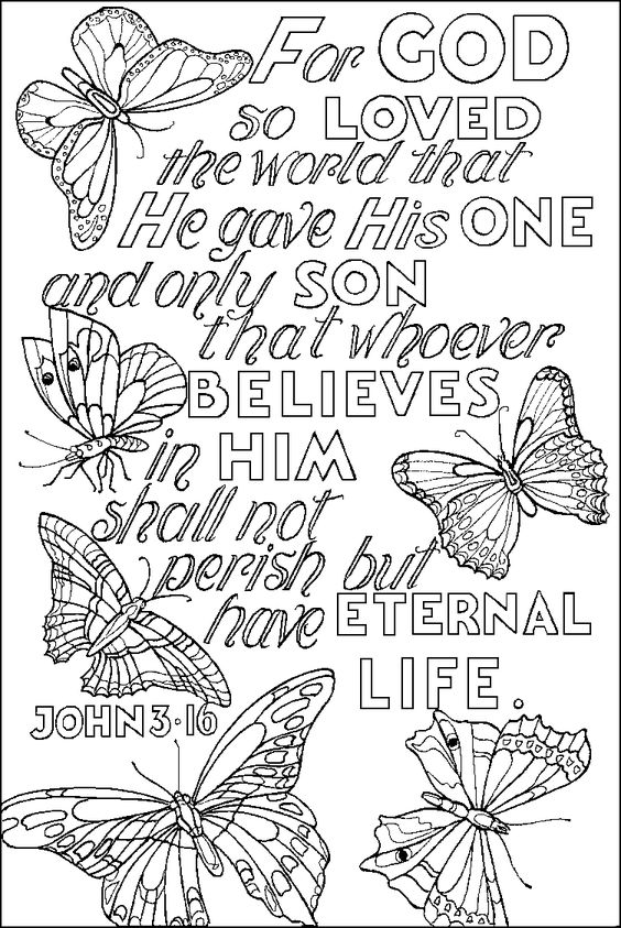coloring pages coloring and bible verses on pinterest