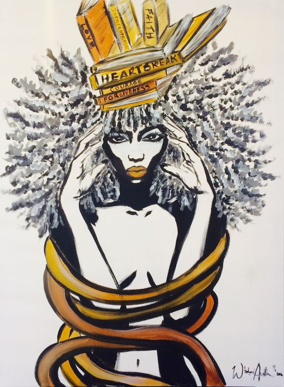 f6a97b3af9fff47c63f00fc814fedd5a BSB Feature: Whitney Austin- NC Belle Makes Gorgeous Afrocentric Art