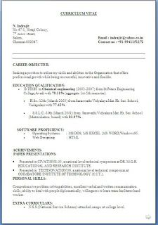 resume format resume and cv format on pinterest