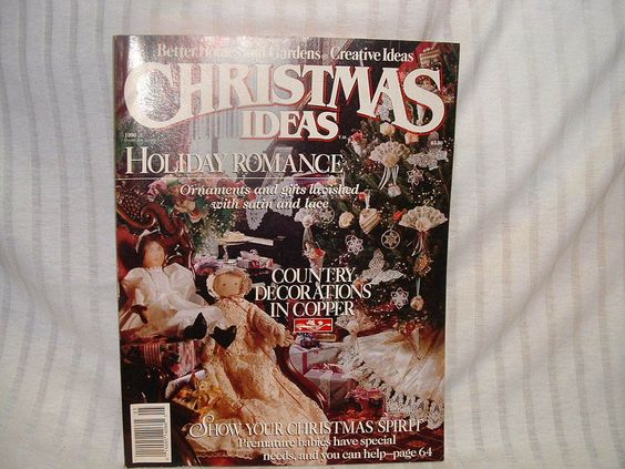 Creative Crafts, Better Homes And Gardens And Christmas
