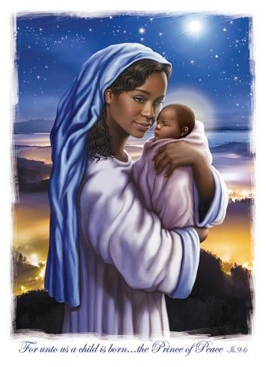 Prince Of Peace African American Christmas Cards Jesus