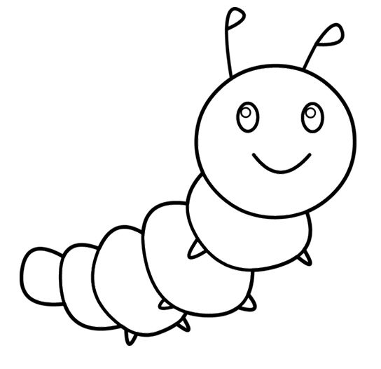 caterpillar coloring pages for toddlers coloring pages now