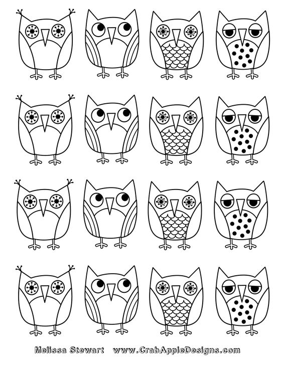 owl owl coloring pages and crab apples on pinterest