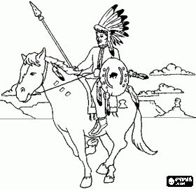 indian horses coloring sheets and native american on pinterest