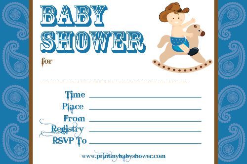 6 Steps To A Cowboy Baby Shower Theme