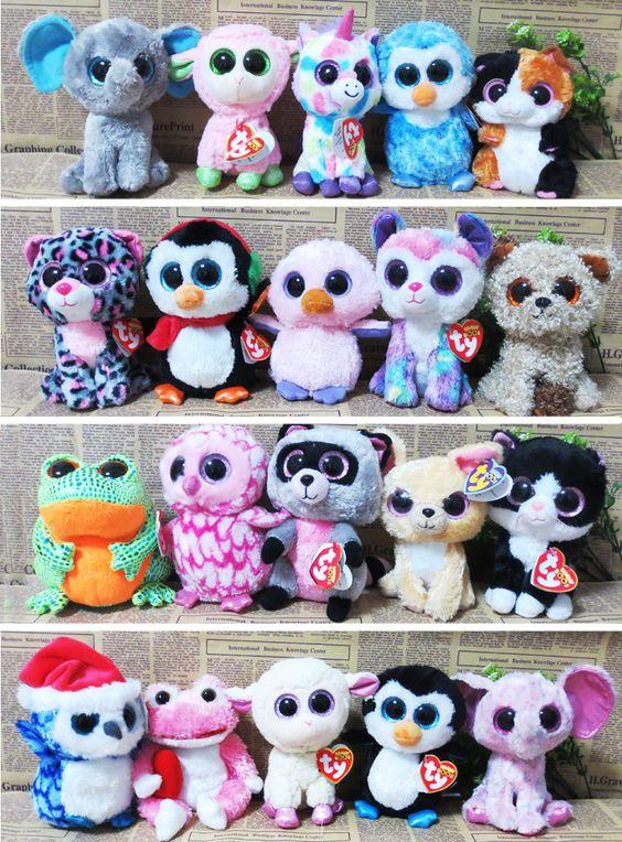 20Pcs/Lot TY Beanie Boos Plush Animals Plush Toys Ty Big