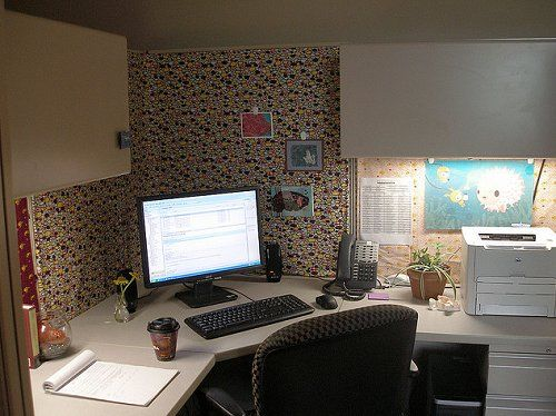 Office Cubicle Decorating Thrifty Ways To Make Your Cubicle Cozy Cubicle Decor Pinterest